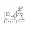 Industrial Services Icon Blue
